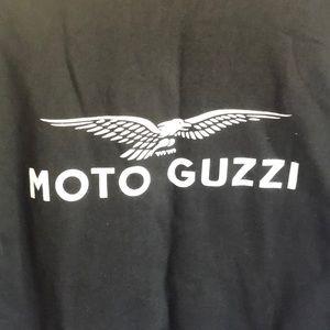 moto Guzzi Shirts - Moto Guzzi Logo Zip sweatshirt. Med